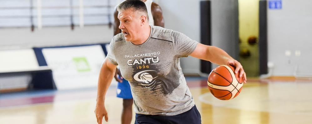 Determinazione  e intensità  Pashutin, un coach nella mischia