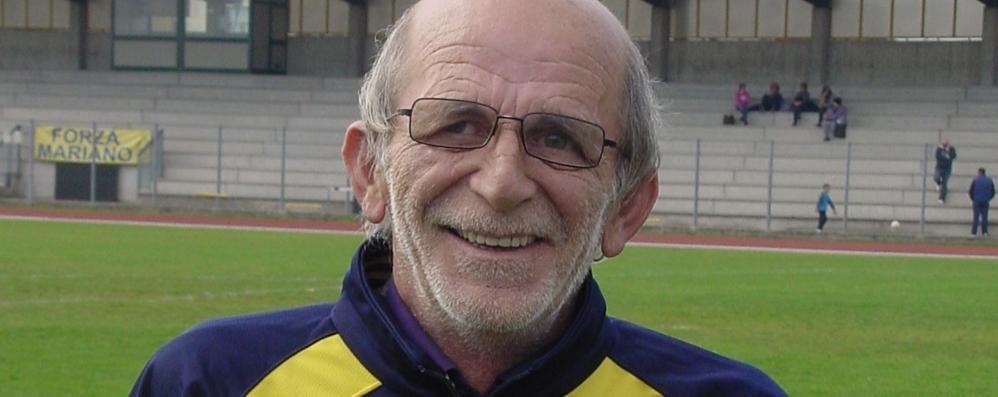 Grave lutto per il Mariano Calcio  È scomparso Roberto Cappellini