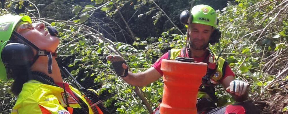 Incidenti agli escursionisti  Mobilitato il soccorso alpino