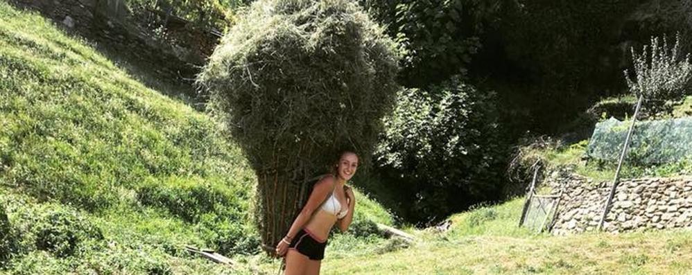 """Fra, la ragazza con il """"raas""""  Sogna un'azienda agricola"""