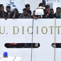 """In arrivo anche a Como  i migranti della """"Diciotti"""""""