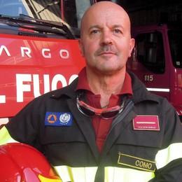 Pompiere da 40 anni  Miotto in pensione