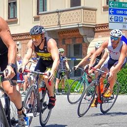 Il triathlon a Bellagio  Domenica con il Ghisallo