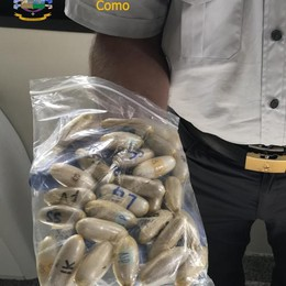 Nello stomaco 8 etti di cocaina Arrestato corriere nigeriano