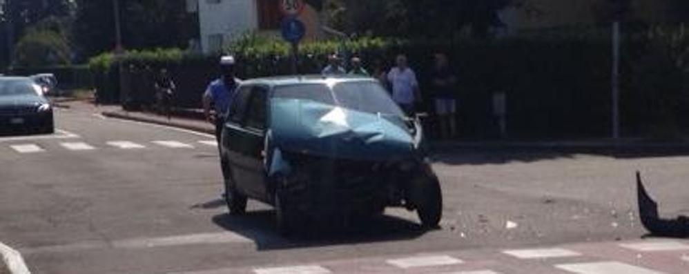 Mariano, ennesimo incidente  all'incrocio di via San Carlo