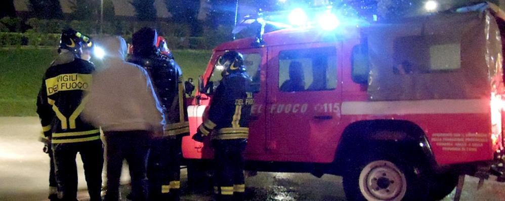 Pioggia e disagi in serata Interventi a Cadorago e Cantù