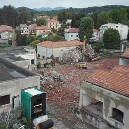 Villa Guardia, Ones addio  Iniziata la demolizione