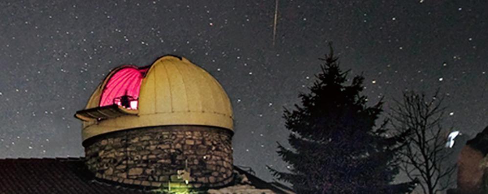 Sormano: dalle code per l'eclissi  alle notti di San Lorenzo  Riapre l'osservatorio