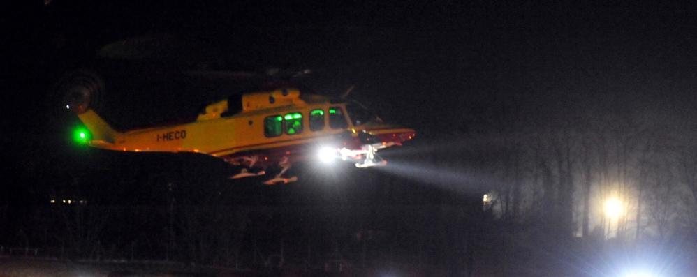 Bellagio, malore nella notte Bambino soccorso con l'elicottero