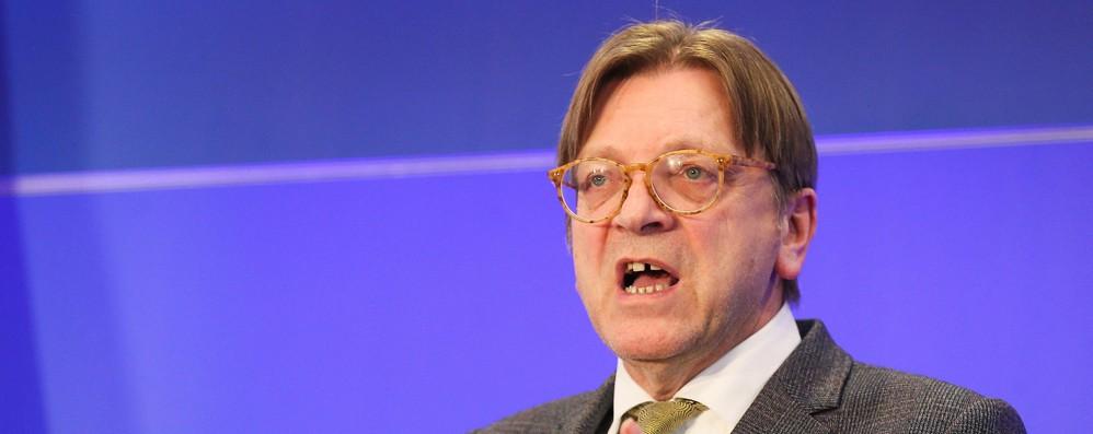 Verhofstadt, con Salvini vuole distruggere Ue, fermiamo Orban