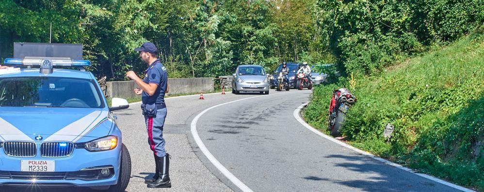 Perde il controllo della moto a Lierna  Morto un uomo di 51 anni di Sirone