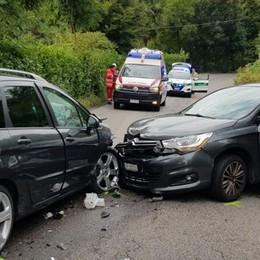 Uggiate, scontro tra auto  Coinvolto anche un bimbo