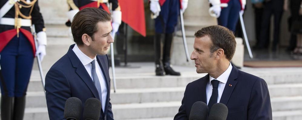 Kurz-Macron auspicano intesa Ue su web tax entro 2018