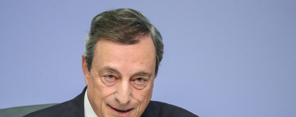 Draghi, fiducioso su progressi nell'Unione bancaria