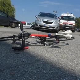 Grandate, incidente sulla Giovi  Ciclista finisce in ospedale