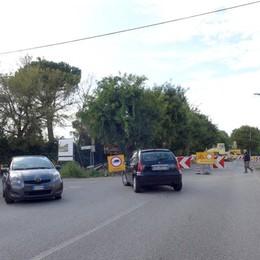 Cermenate, traffico a rischio caos  È ancora bloccata la Statale