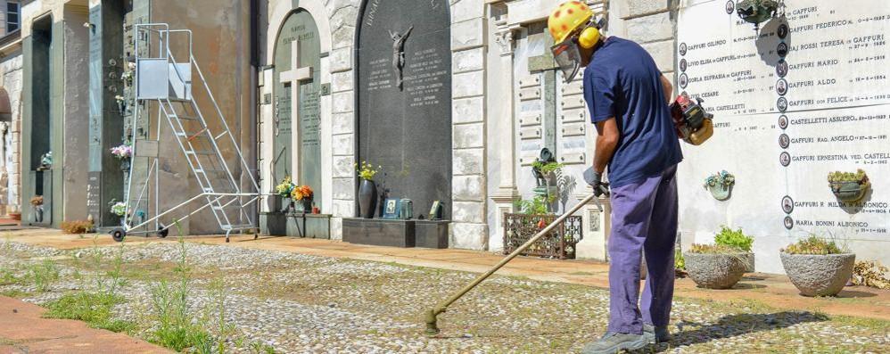 Como via le erbacce   dal primo cimitero