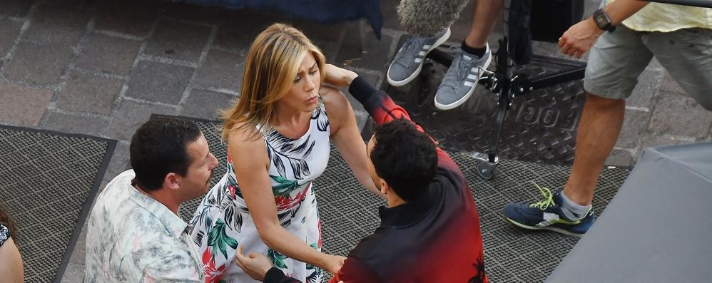 """Pitt e Aniston, ritorno di fiamma  Nella villa """"prestata"""" da Clooney"""