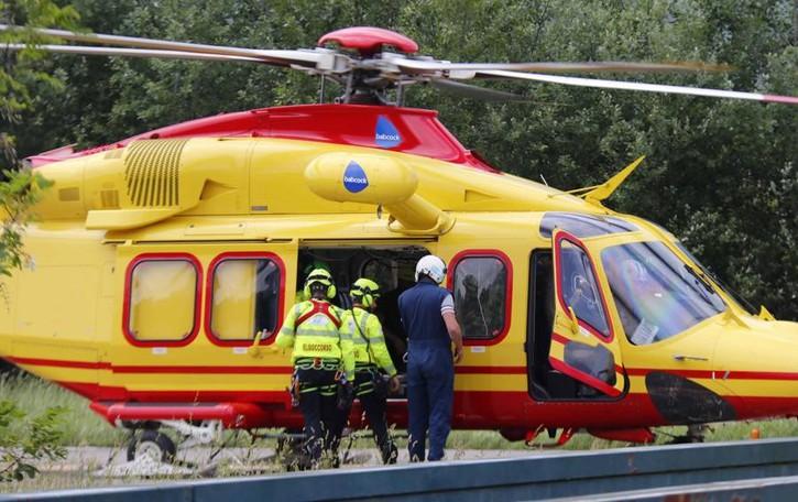 Valle Intelvi, cade con la moto sul sentiero  Giovane soccorso con l'elicottero