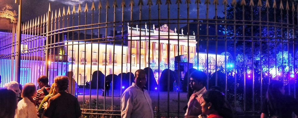 Villa Olmo, musica e proteste Il sindaco: «La città ci guadagna»