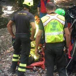Cade in montagna Ferita una donna di 81 anni