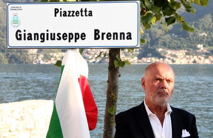 Lenno Intitolazione Piazzetta Brenna Franco Brenna