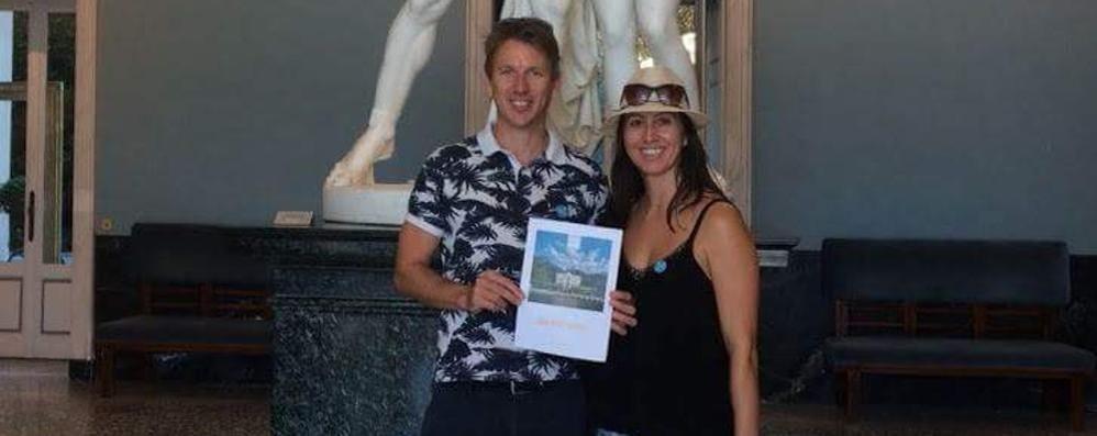 Tremezzina, Villa Carlotta verso il record  Da Londra i visitatori numero 200mila
