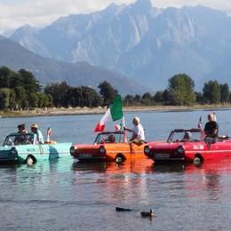 La passeggiata da Dongo a Gera  Con le auto anfibie sul lago