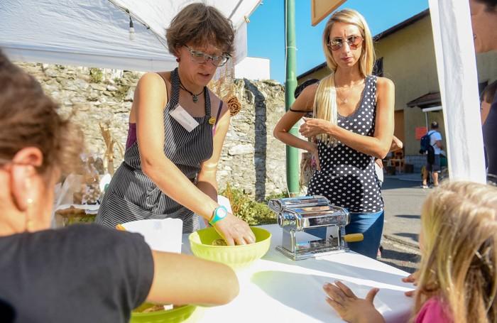 Cernobbio festa delle zucche a Rovenna