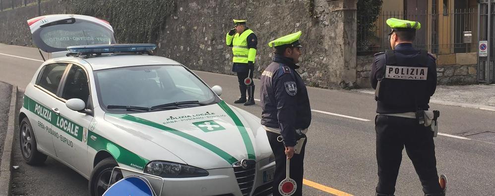 Ubriachi al volante sequestrate due auto