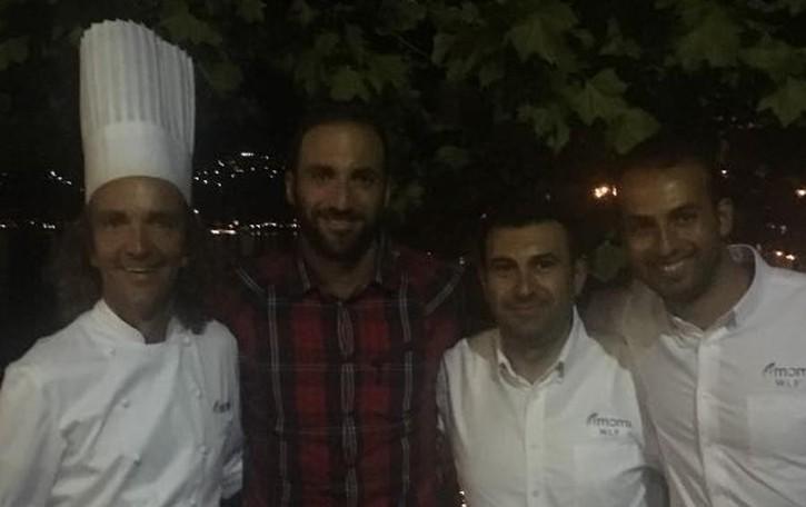 Higuain, la cena romantica  Al lago dopo il ko alla Roma