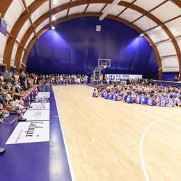 Con i privati rinasce la palestra di Albate  Nuovo polo del basket