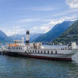 Patria, un hotel galleggiante  Con otto cabine di lusso