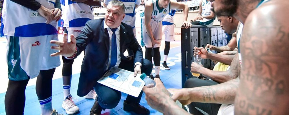 Pashutin: «Contro Sassari  serve la miglior difesa»