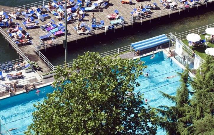 Viale Geno, derby per la piscina  Il primo round alla Como Nuoto