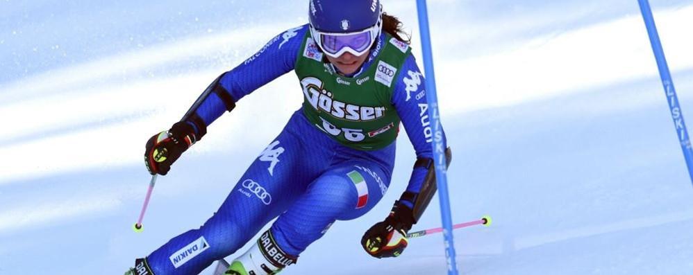 Gigante Fis a Courmayeur Bertani va sul podio: terza