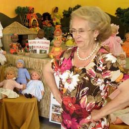 Canzo, addio a Mariuccia  Signora delle bambole  e volontaria speciale