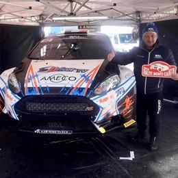 Paccagnella al Rally di Montecarlo  «L'obiettivo è arrivare al traguardo»