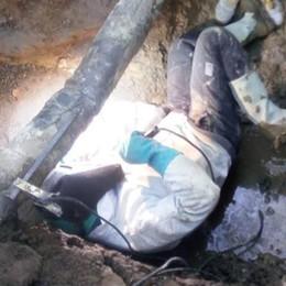 Acquedotto colabrodo  Emergenza in Valle Intelvi