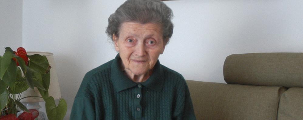 Erba, addio a Giuseppina Fusi  Vide gli ultimi istanti di Puecher