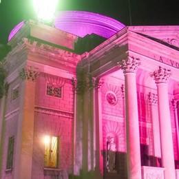 Arriva Nibali e il Tempio si veste di rosa