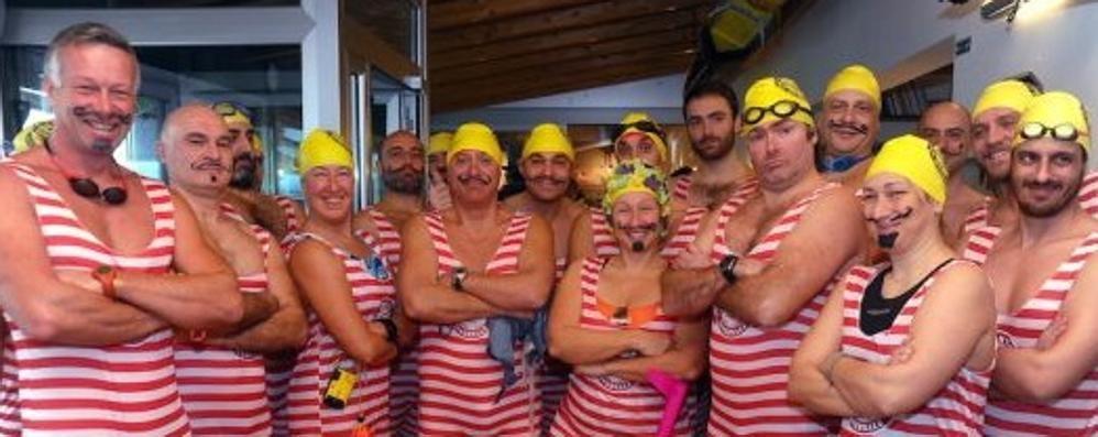 Quelli che nuotano nelle acque gelide  «Il nostro sogno? Andare alle Olimpiadi»