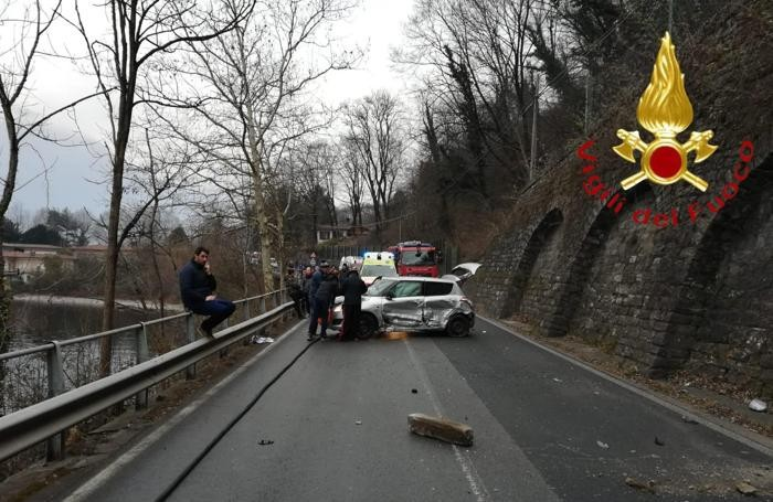 L'altra auto incidentata