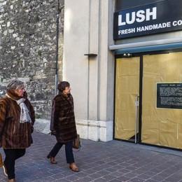 Como, a sorpresa chiude Lush  Il sapone artigianale che ha fatto un'epoca