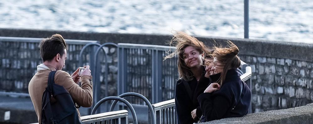 Il vento ha portato il freddo  Ma per ora niente neve