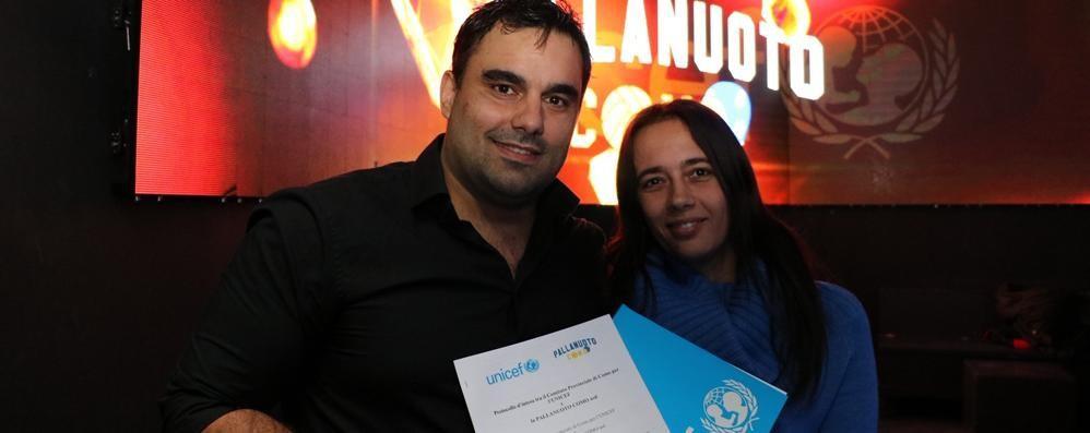 Pallanuoto Como, accordo con Unicef  Il progetto a difesa dei giovani atleti