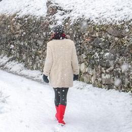 Neve: solo prove generali  Le vere precipitazioni venerdì