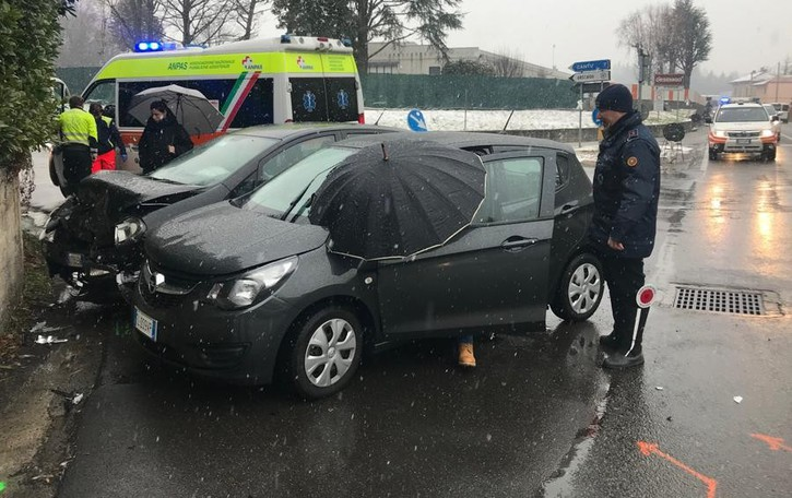 Incidente ad Anzano  Tre persone all'ospedale