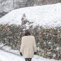 La neve: «Pochi disagi sul lago  Mezzo metro in vetta»
