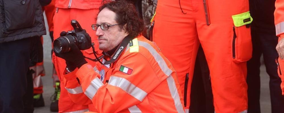 Addio Rudy, volontario per amore  «Lui in ambulanza fino all'ultimo»